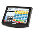 QTouch 12 POS System made by QUIRiON supplied by Cash Control Cape